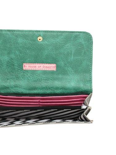 Disaster barevná peněženka Framed