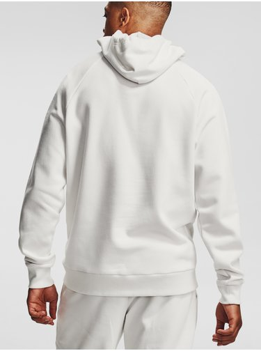 Mikina Under Armour Rival Fleece Hoodie-WHT