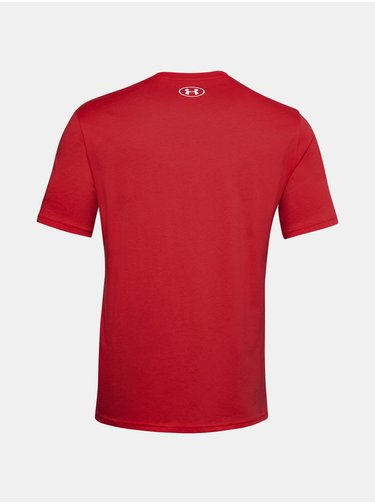 Tričko Under Armour UA TEAM ISSUE WORDMARK SS-RED