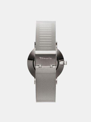 Dámské hodinky s kovovým páskem ve stříbrné barvě Tamaris