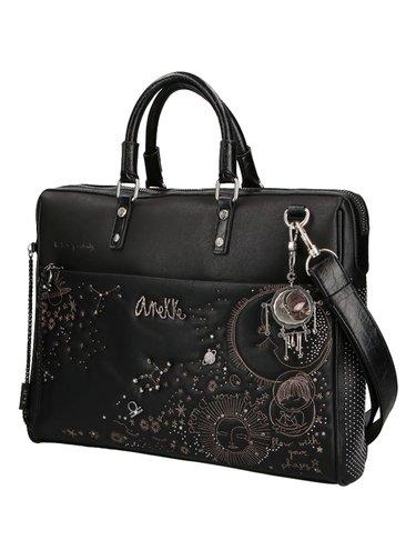 Anekke černá taška na notebook Universe
