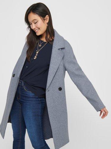Trenciuri si paltoane subtiri pentru femei ONLY - albastru deschis