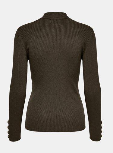 Hnědý svetr Jacqueline de Yong