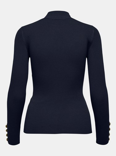 Tmavě modrý svetr Jacqueline de Yong