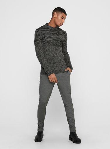 Šedý pánsky sveter ONLY & SONS