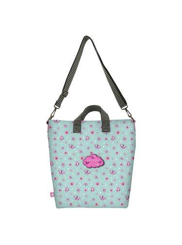 Santoro tyrkysová taška Gorjuss Cherry Blossom