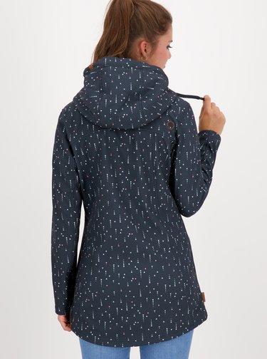 Tmavě modrá dámská vzorovaná bunda Alife and Kickin