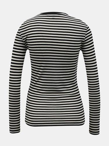 Šedé pruhované tričko VERO MODA