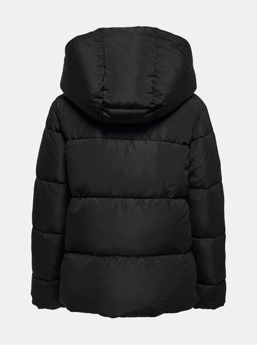 Černá zimní prošívaná bunda ONLY Sara