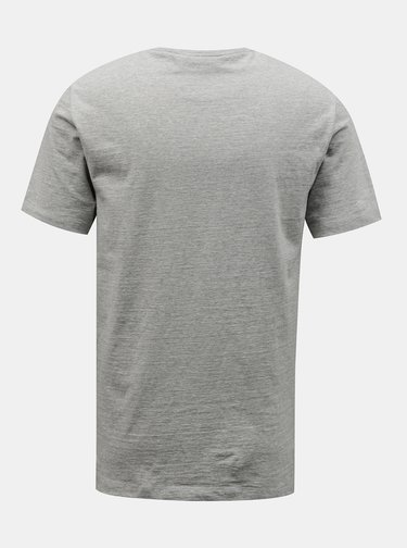 Šedé pánské tričko Lacoste