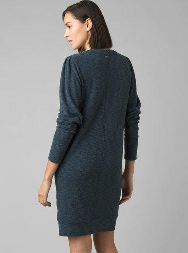 Modré mikinové šaty prAna