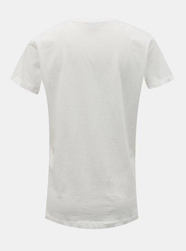 Bílé tričko s potiskem Jacqueline de Yong