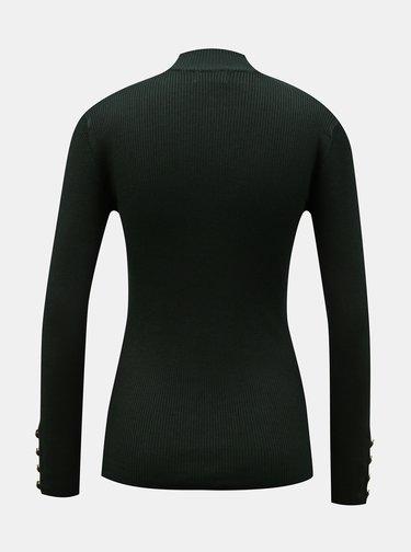 Tmavě zelený svetr Jacqueline de Yong