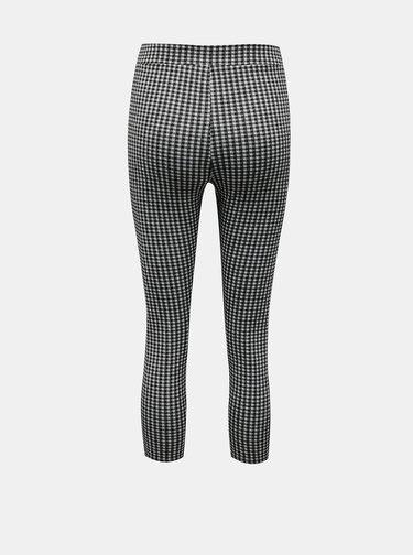 Černo-bílé 3/4 kalhoty Miss Selfridge Petites