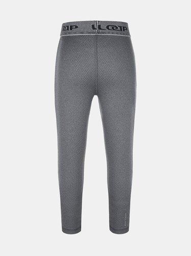 Šedé dětské termo kalhoty LOAP
