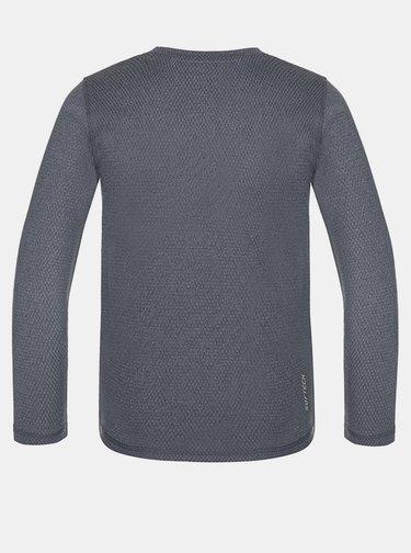 Šedé detské termo tričko LOAP