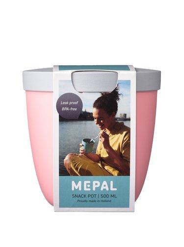 Mepal Svačinový box Ellipse Nordic Pink 500 ml