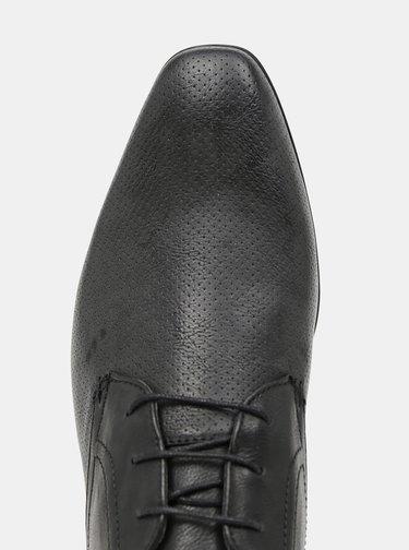 Čierne polobotky Burton Menswear London