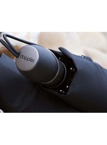 Doppler Magic Fiber Premium Black pánský luxusní deštník - Černá