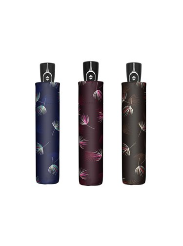 Doppler Magic Fiber Desire dámský plně automatický deštník - Modrá