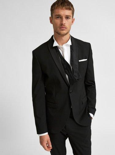 Čierne oblekové sako Selected Homme
