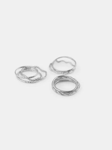 Inele pentru femei Pieces - argintiu