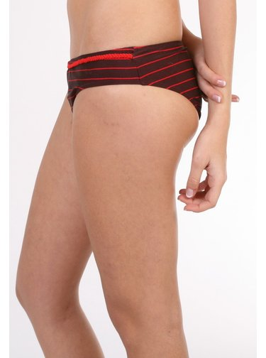 WESC HILLARY RED PORT dvoudílné plavky - černá