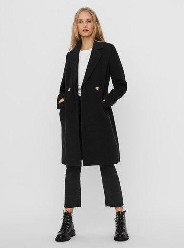 Černý zimní kabát VERO MODA