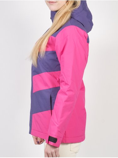 Funstorm KESSA violet zimní dámská bunda - růžová