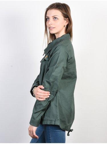 Roxy FREEDOM FALL DUCK GREEN podzimní bunda pro ženy - zelená