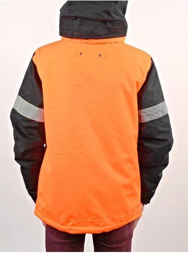 686 DICKIES RESCUE safety orange clrblk zimní dětská bunda - oranžová