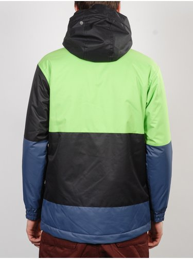 Funstorm BRIAN green zimní dětská bunda - modrá