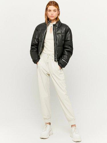 Pantaloni chino pentru femei TALLY WEiJL - crem