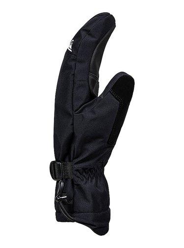 Quiksilver MISSION MITT TRUE BLACK dětské zimní palcové rukavice - černá