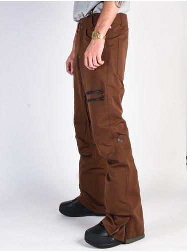 ARMADA ATMORE STRETCH MAHOGANY lyžařské kalhoty pánské - hnědá