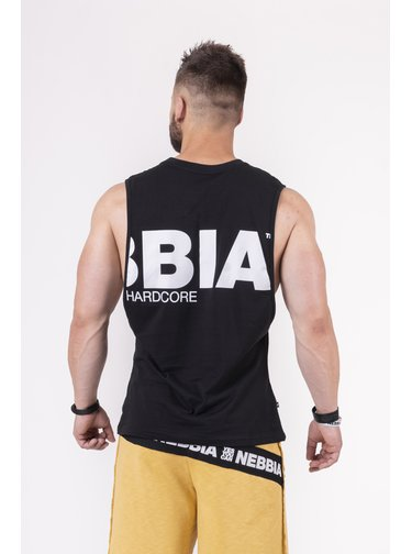 Back To The Hardcore tank top 144 - černá