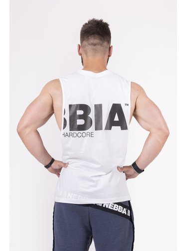 Back To The Hardcore tank top 144 - bílá