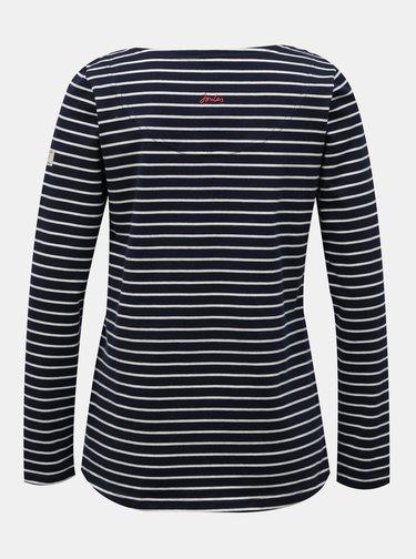 Tmavě modré dámské pruhované tričko Tom Joule