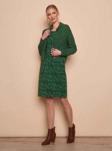 Zelený dámský kardigan Tranquillo