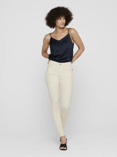 Krémové skinny fit džíny ONLY Blush