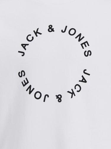 Pulovere fara gluga pentru barbati Jack & Jones - alb