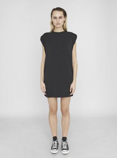 Čierne basic šaty Noisy May Minna
