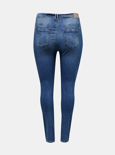 Modré skinny fit džíny ONLY CARMAKOMA Laola