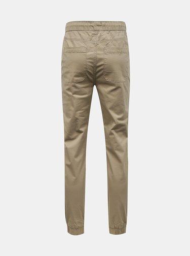 Béžové nohavice ONLY & SONS Linus