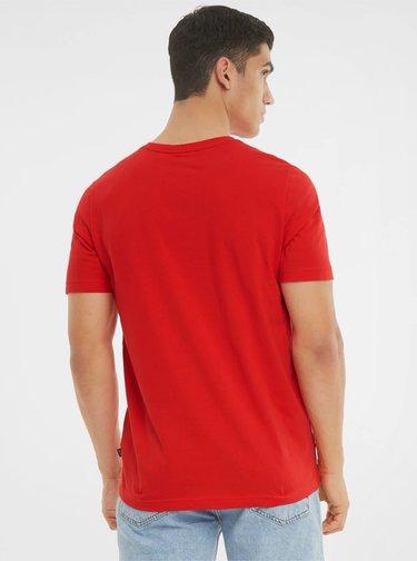 Červené pánské tričko Puma
