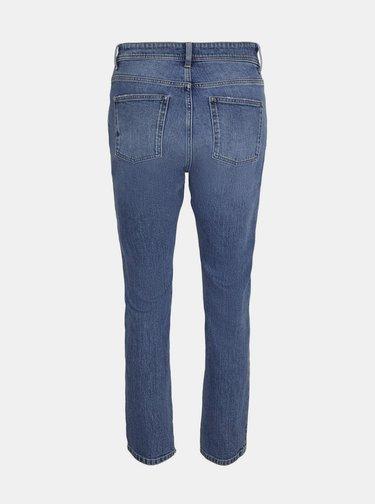 Modré slim fit džíny Noisy May Olivia