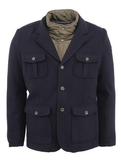 Tmavě modrá bunda a sako 2v1 Pepe Jeans Cortina