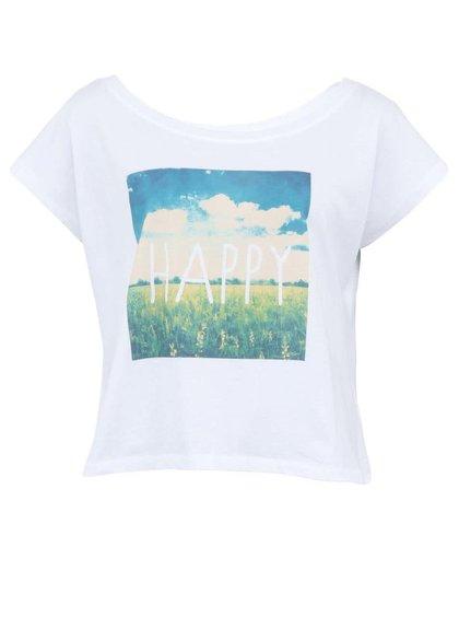 Biele dámske tričko ZOOT Originál Happy