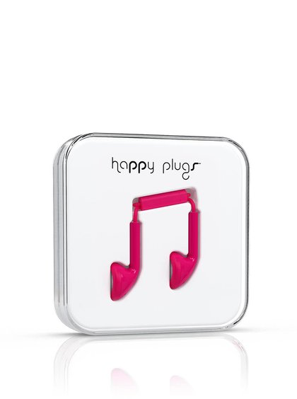 Căști In-Ear Happy Plugs roz