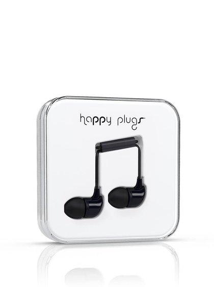 Căști In-Ear Happy Plugs negre